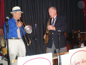 Bryan Gould & Howard Dudune