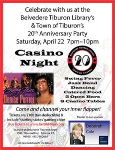 Belvedere Tiburon Library Casino Night